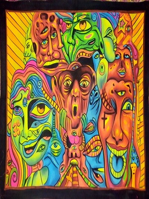 Psychedelic LSD Painting